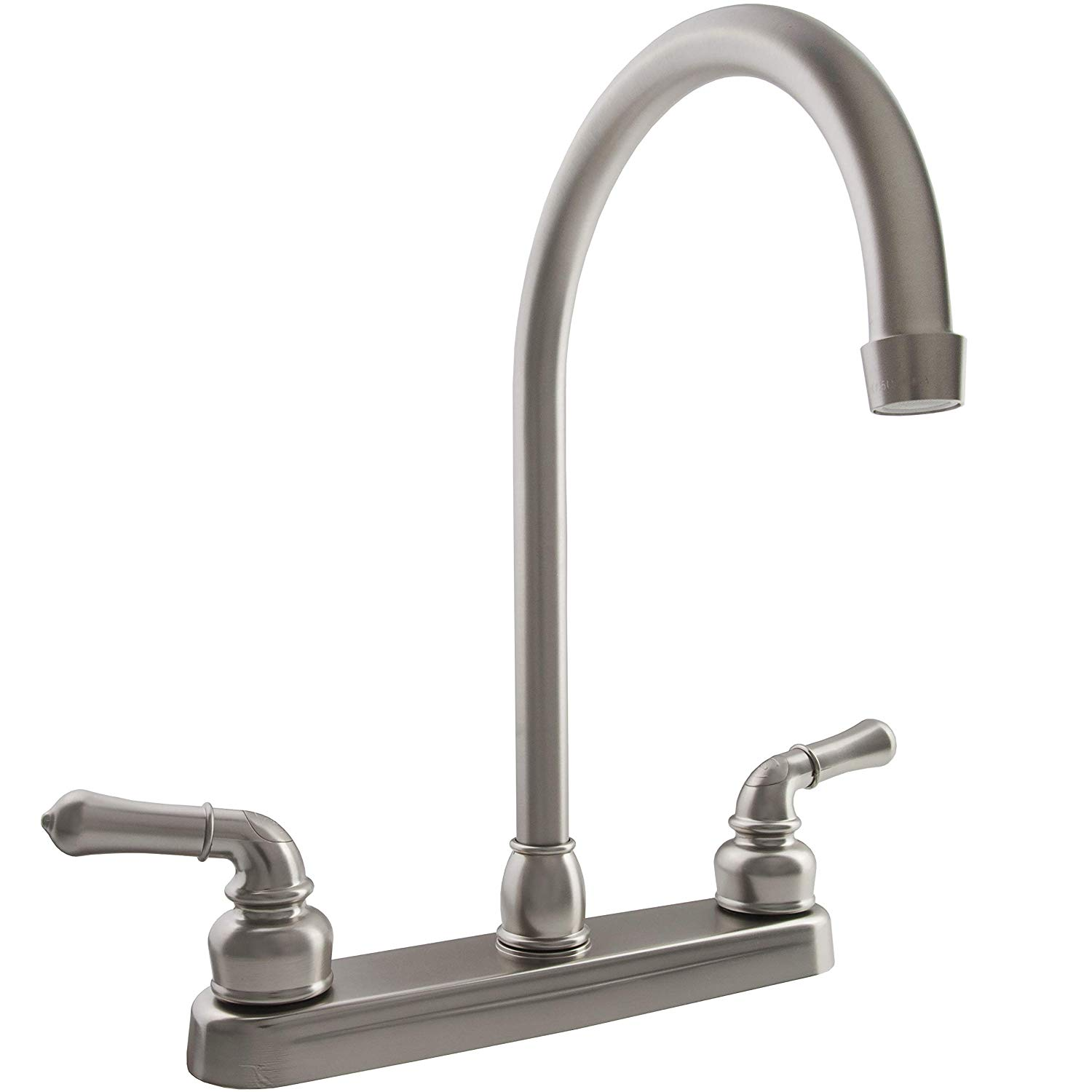 Dura Faucet Kitchen Faucet for RV with J-Spout
