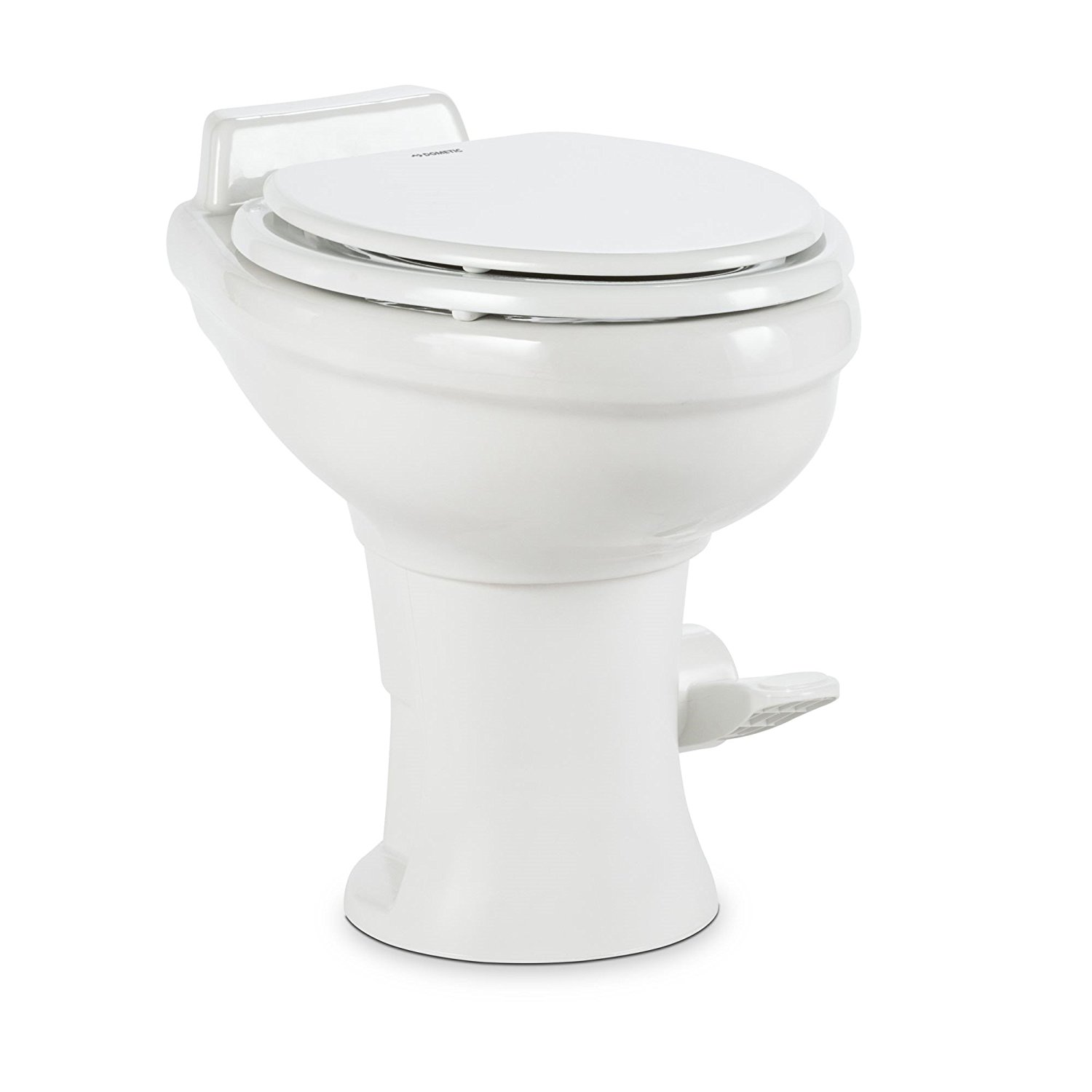 Dometic 320 Series Standard Height Toilet w/Hand Spray - ceramic